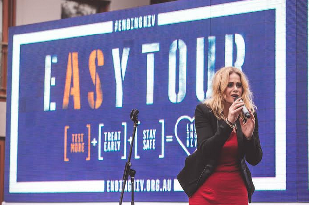 Red Guerilla Kicks Off HIV Testing Week With Launch of EASY TOUR