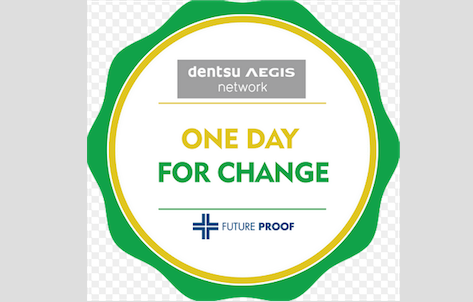 Dentsu Aegis Network Holds One Day for Change