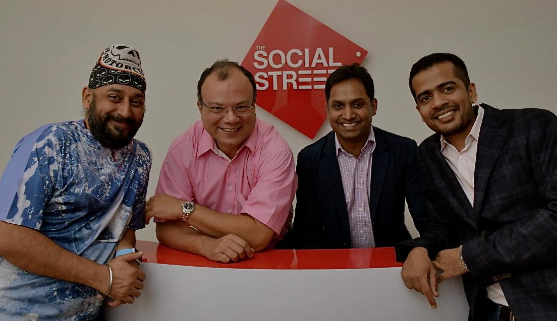 Advertising Agency The Social Street Opens in Mumbai India