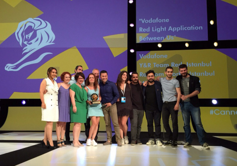 Y&R Team Red Istanbul Wins its First Grand Prix For Media Lions