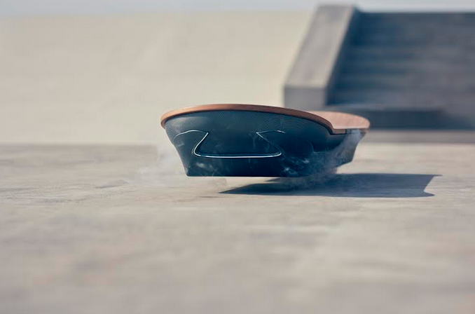 CHI&Partners Unveils First Image of Real-Life Lexus Hoverboard