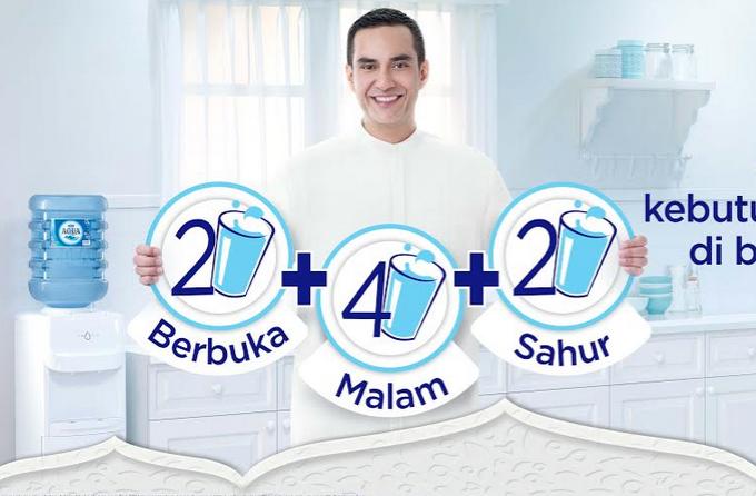 Y&R Indonesia & AQUA Encourage Healthy Hydration During Holy Month