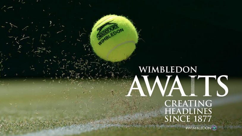 Space Creates Headlines With Wimbledon Awaits Campaign for 2015