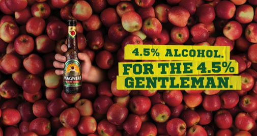Host Highlights Gentlemanly Misconduct for Magners Campaign Launch