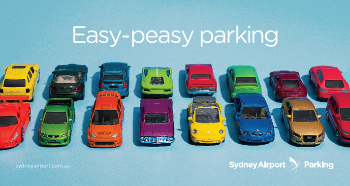 """Core Creates New """"Easy-Peasy"""" Campaign For Sydney Airport Parking"""