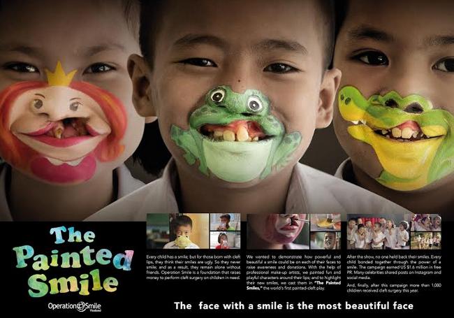 "BBDO Bangkok & Operation Smile Launch ""The Painted Smile"""