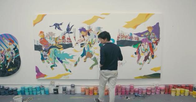 Clemenger BBDO Sydney & Toshiba Put Japanese Artist Tomokazu Matsuyama to The Ultimate Test