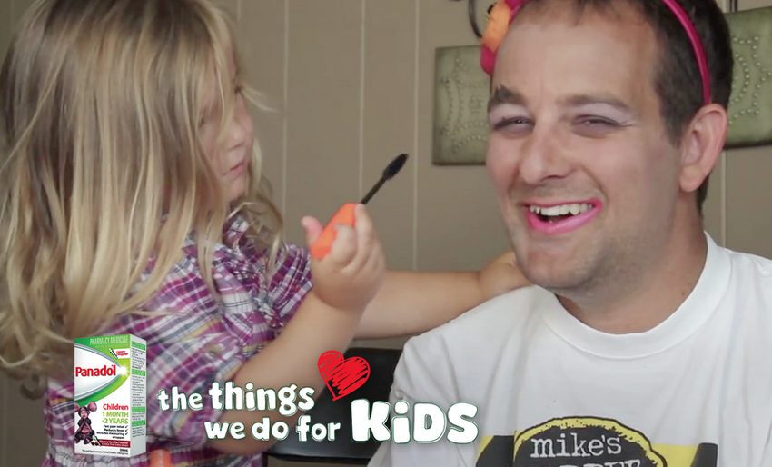 Children's Panadol & The Works Celebrate The Things We Do For Kids