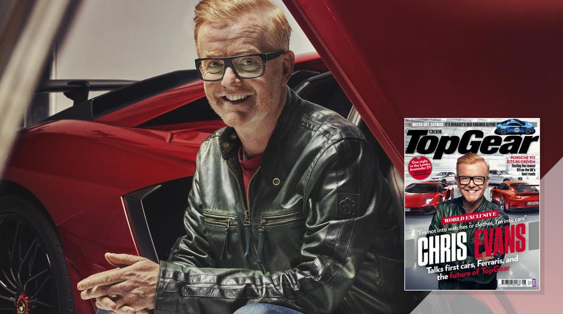 Limehouse Creative Drives Home TopGear'sOfficial New Cover Shoot