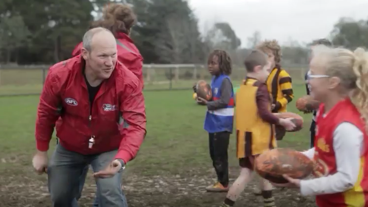 NAB & Clemenger BBDO Urge Footy Fans to 'Fanshake' Their Way to Toyota AFL Grand Final