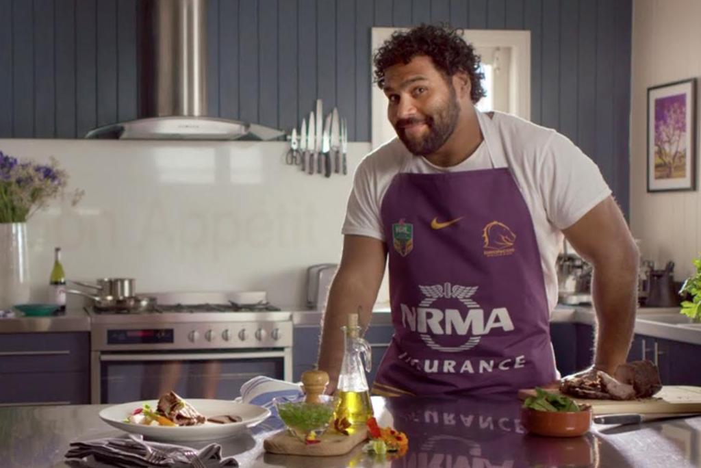 Brisbane Broncos' Sam Thaiday Flexes His Culinary Skills for NRMA