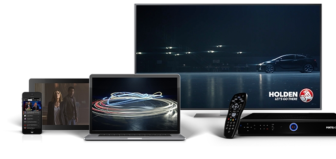 Holden Launches Foxtel Anytime Channel with MCN