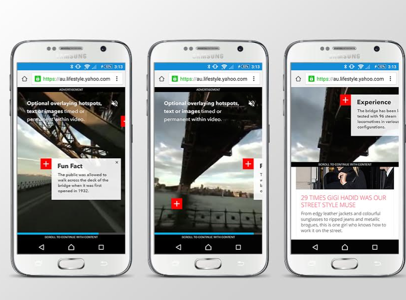 Yahoo7 Launches Australian First 360-Degree Ad Format