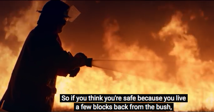 Fire Has A Plan In Chilling New Campaign for NSW Rural Fire Service