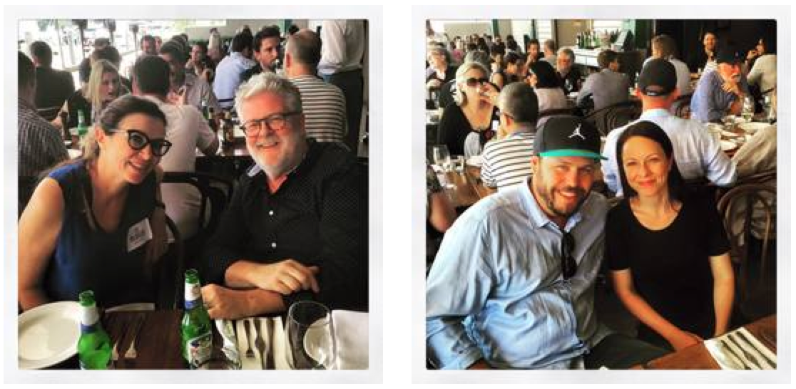 Sydney's top creatives, agency producers come together to attend the CB / Little Black Book Legendary Lunch