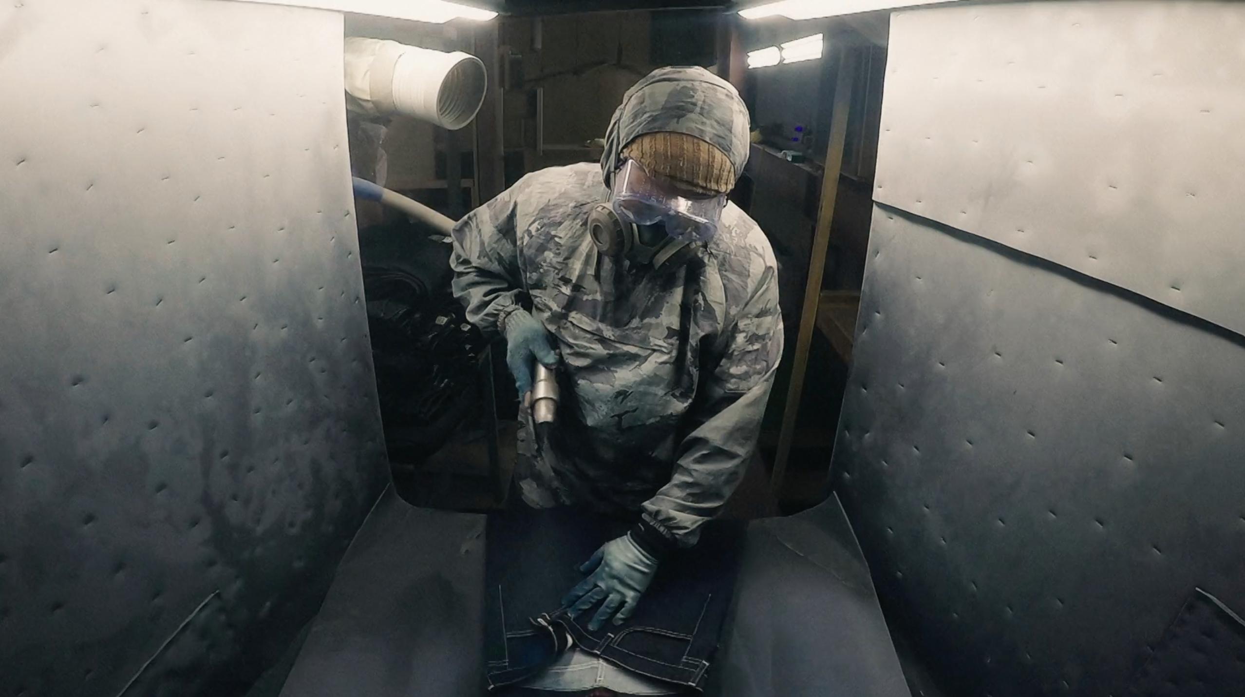 Jason Denham Unveils The Truth of Jeanmaking in New Short