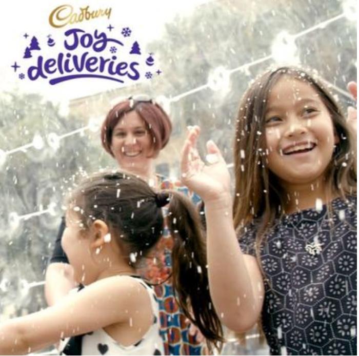 Cadbury launches Cadbury Joy Deliveries Christmas campaign via Saatchi & Saatchi, Sydney