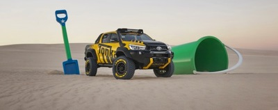 Toyota Australia Showcases Unbreakable HiLux Tonka Concept.