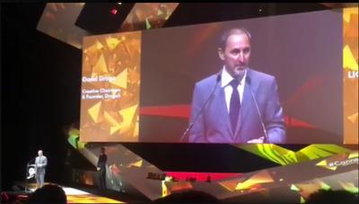Cannes Lions Honours Australia's David Droga With The Lion of St. Mark