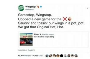 Wingstop and Wendy's Lay It Down in Twitter Rap Battle