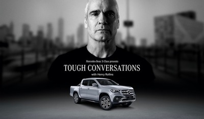 Henry Rollins Challenges The Notion of Tough in Mercedes-Benz X-Class Campaign