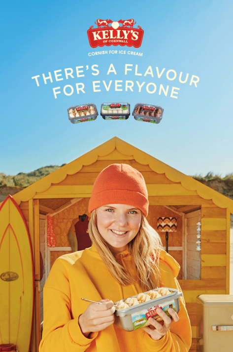 Kelly's Returns with New Cornish-Speaking TV Ad by Isobel