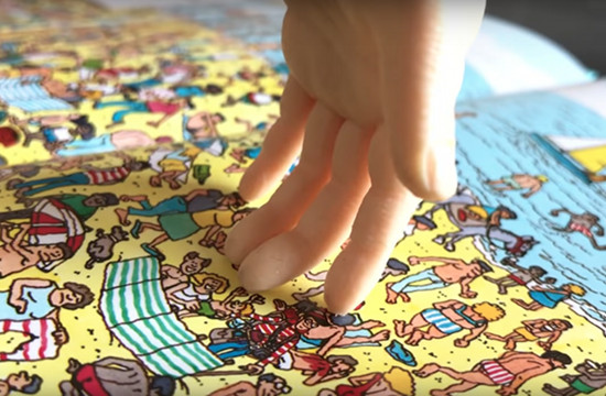 The Story Behind the Robotic Hand That's Ace at Where's Waldo