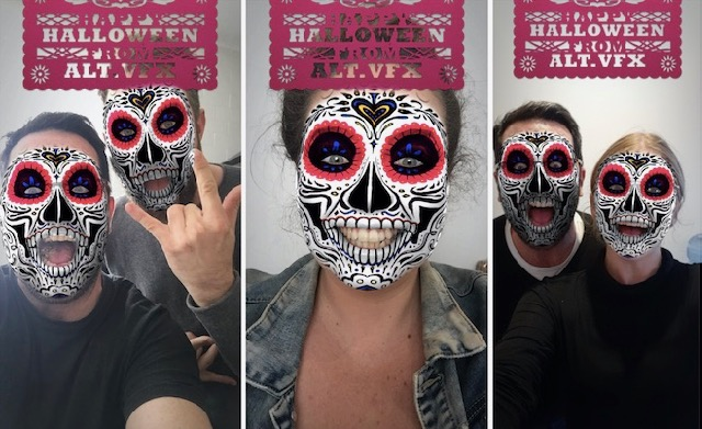 Say Hello to Halloween with Alt's Facebook Face Filter