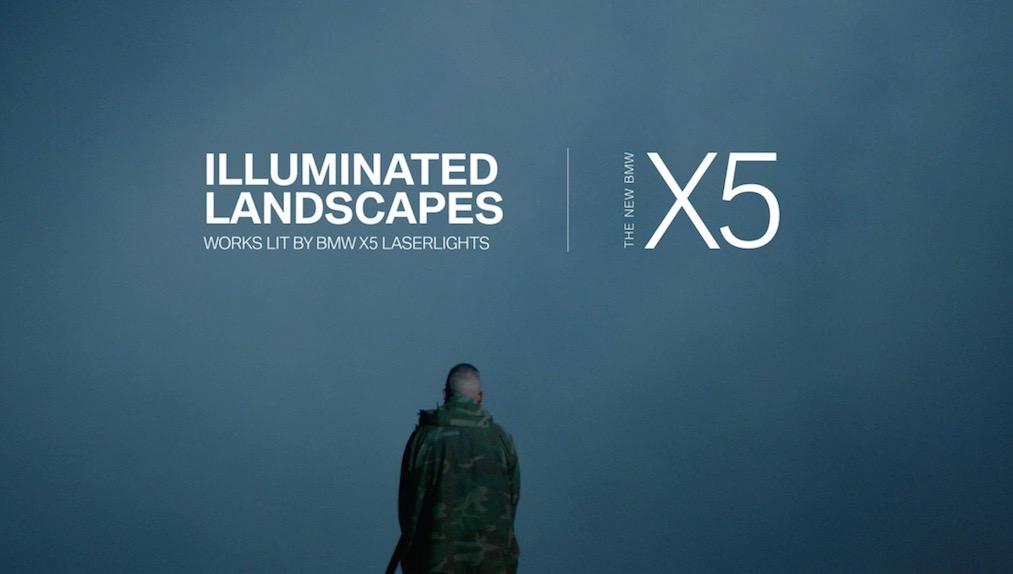 BMW's 'Illuminated Landscapes' Creates Ethereal, Otherworldly Images