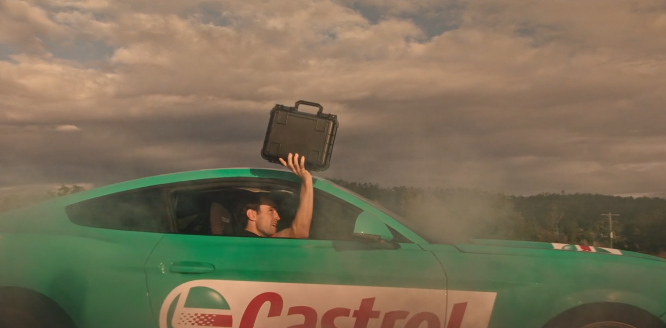 Full Speed Ahead for Taxi Director Davros in Latest Brand Film for Supercheap Auto