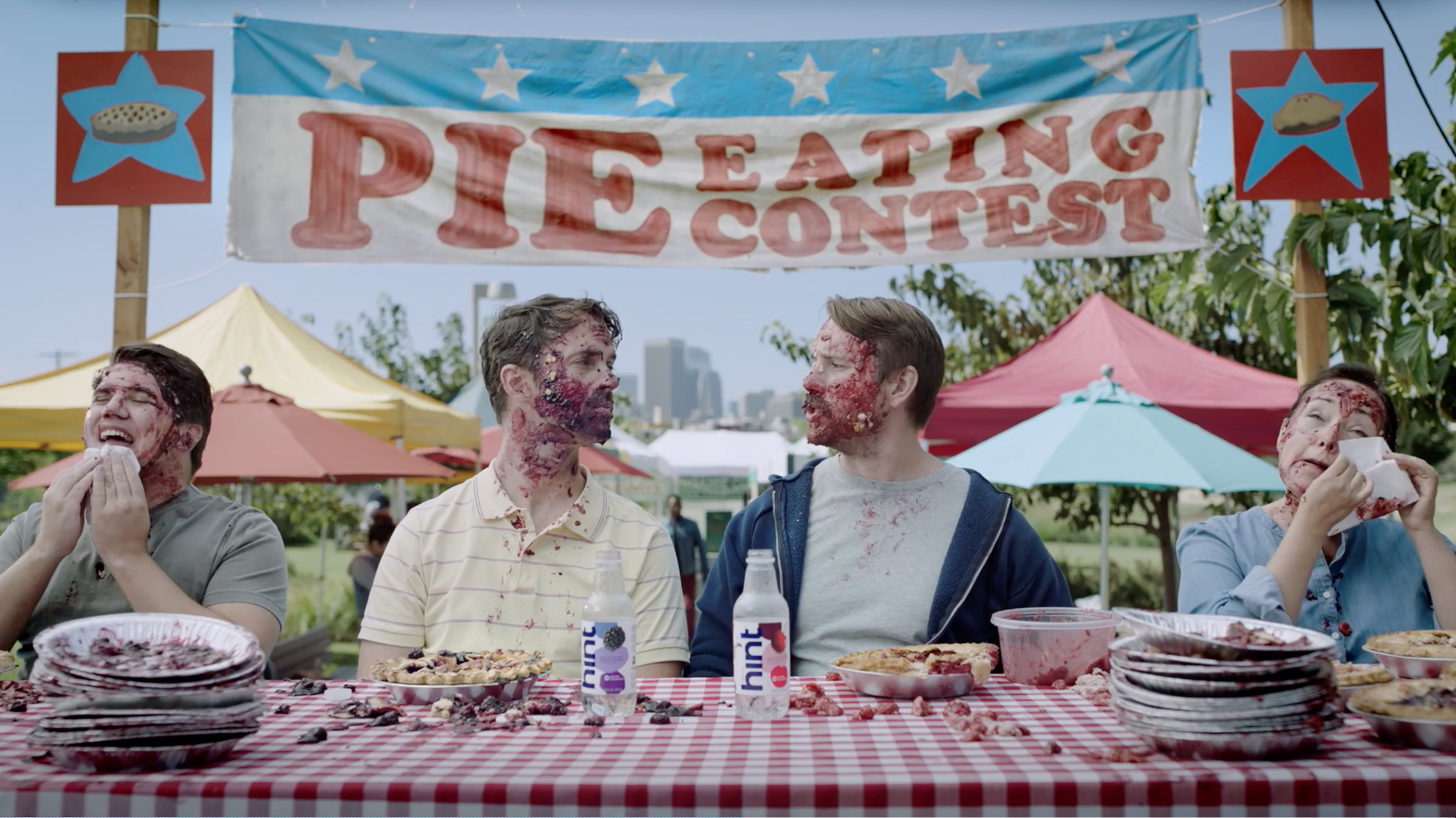 Funworks Serves Up Bold Characters and 'True Fruit Flavors' In New Spots for Hint Water