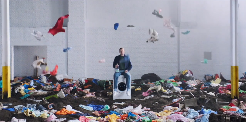 The Glue Society Directs Ecover's New 'Laundry Against Landfill' Campaign