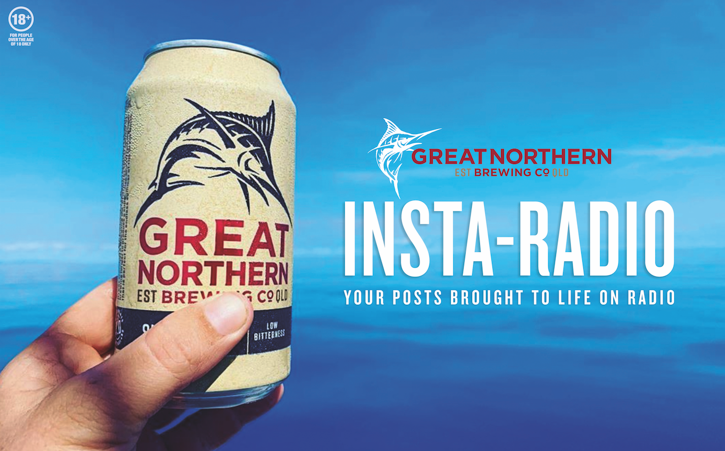 Great Northern Brewing Company and Clemenger BBDO Launch InstaRadio