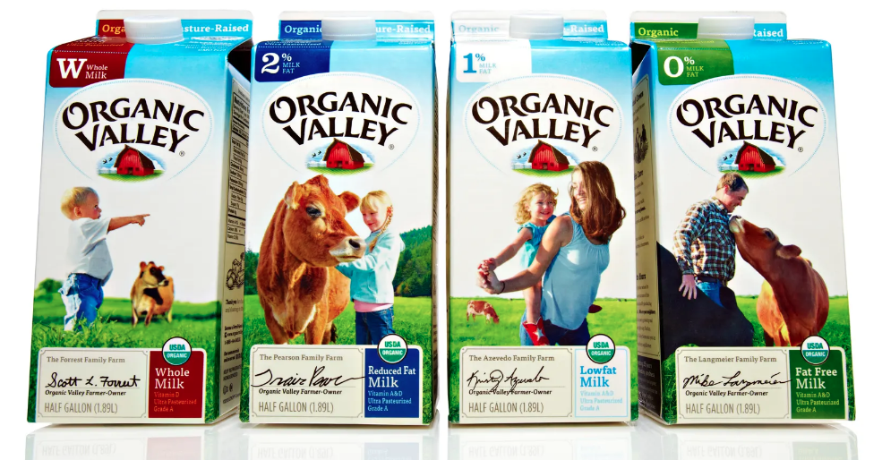 "Milk Brand 'Organic Valley' Goes Way ""Outside"" in New Campaign"