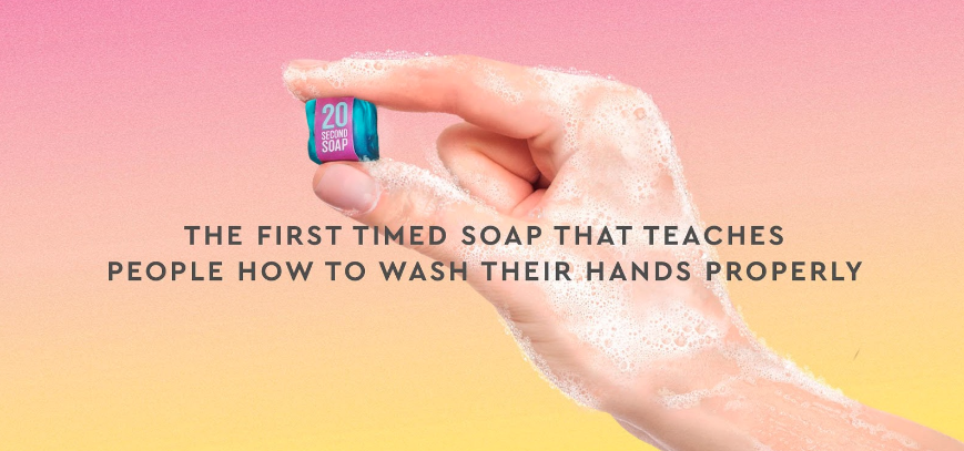 Agency 'Verve' Invents First 20-Second Soap to Help Curb Spread of Covid-19