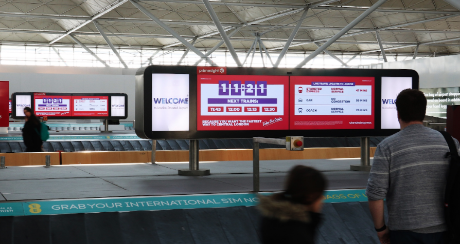 Stansted Express Empowers Travellers with Smart Digital Out-Of-Home Campaign