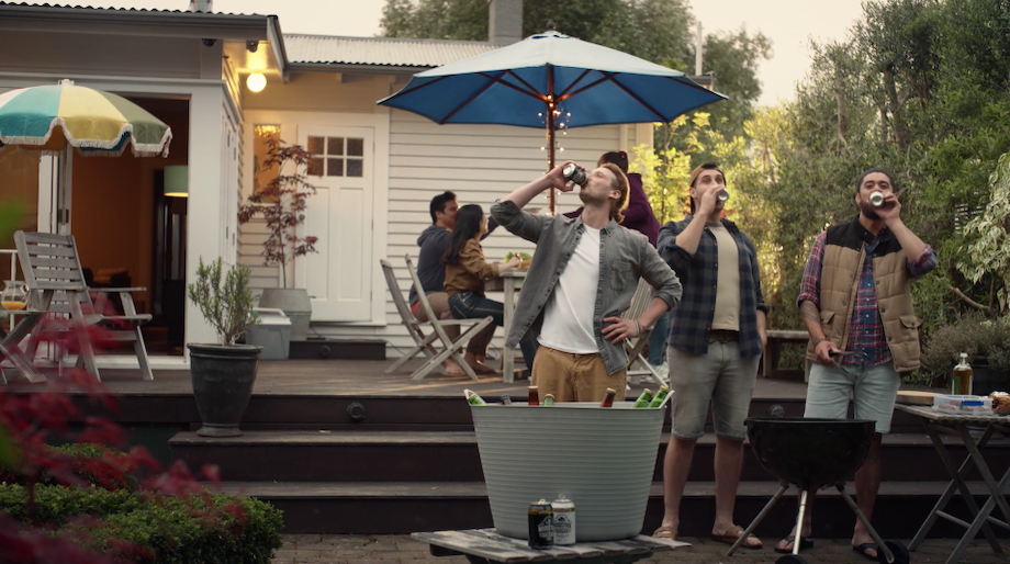 Woodstock's 'That's the Spirit' Campaign Sees Kiwi Mates Parodying Famous Movie Lines