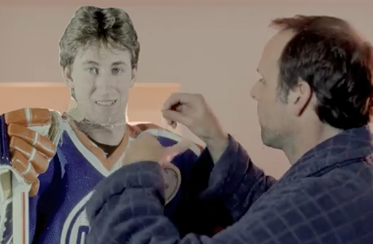 Gretzky Cut-Out Stars In New Mobile Mini Spot
