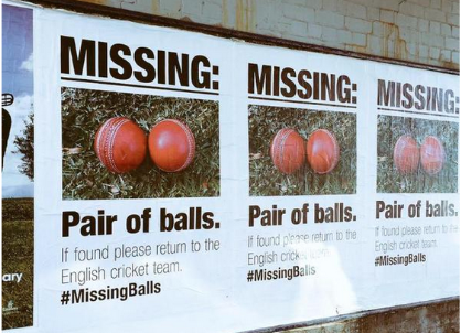 Naked Melbourne Helps Sportsbet Search For England's Missing Balls