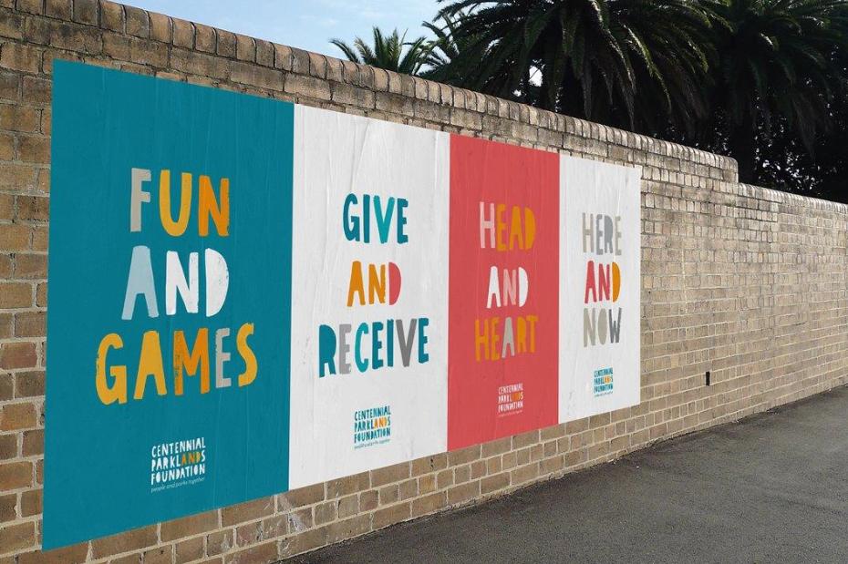Centennial Parklands Foundation Unveils New Identity via Designworks