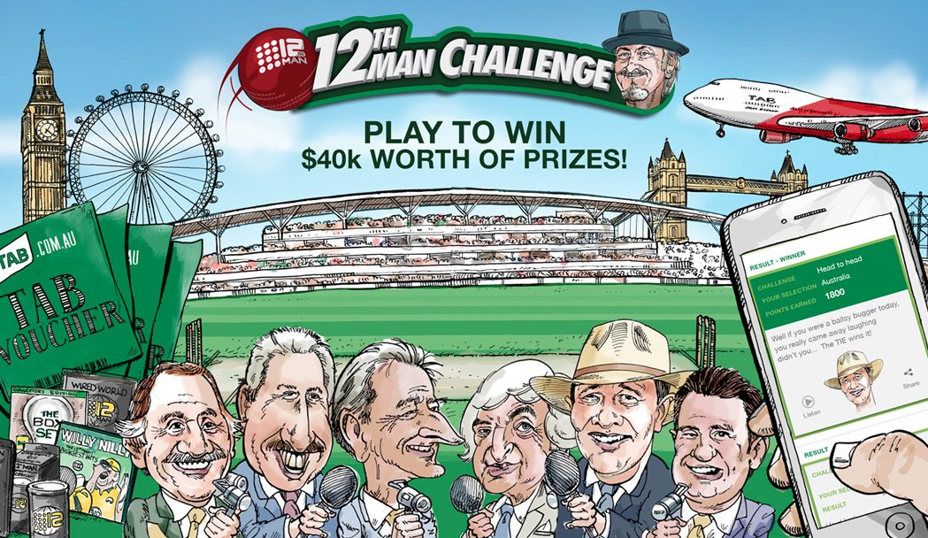 The Idea Shed Partners with TAB to Launch 12th Man Challenge