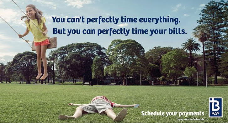New BPAY Campaign Presents 'Perfectly Timed' Product Feature Through BMF