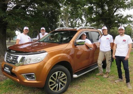 The Nissan Tough Love Team Kicks off in 2015