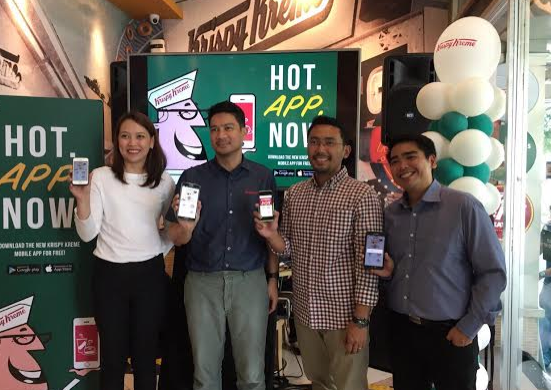 Krispy Kreme Phillpines Launches First Foray into Mobile with Mobext