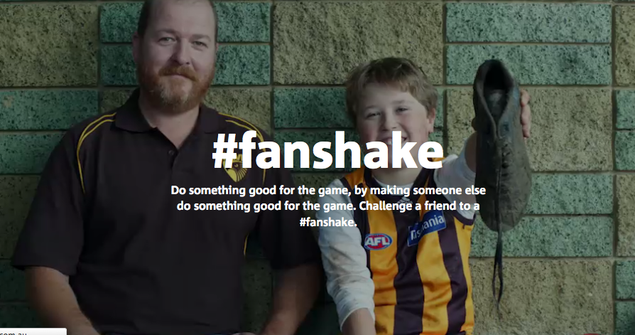 NAB Settles AFL Rivalry with a 'Fanshake'