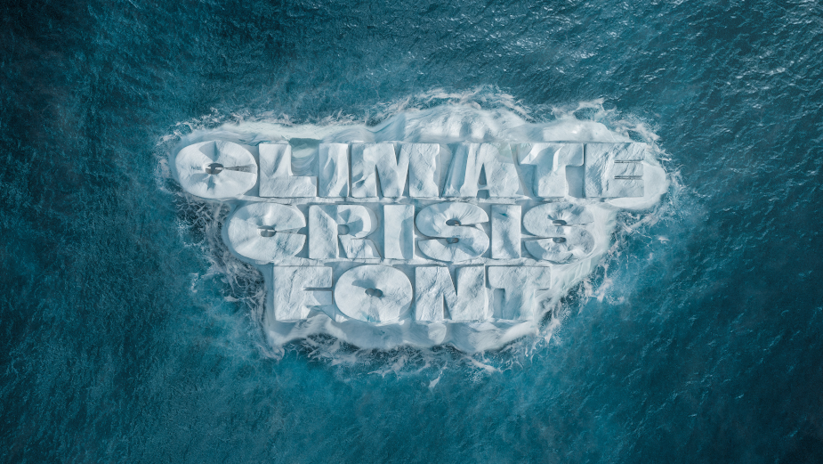 Nordic Newspaper Releases Free Font Visualising Urgency for Climate Action