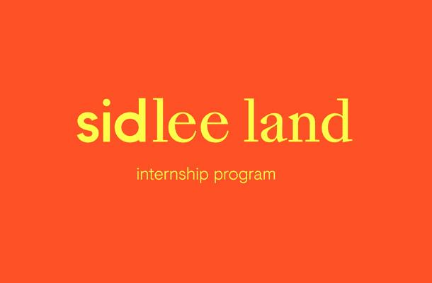 Internship Scheme Sid Lee Land Returns for 2018