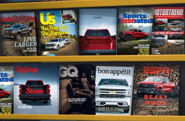 Commonwealth//McCann and Chevrolet Make the Silverado a Cover Star