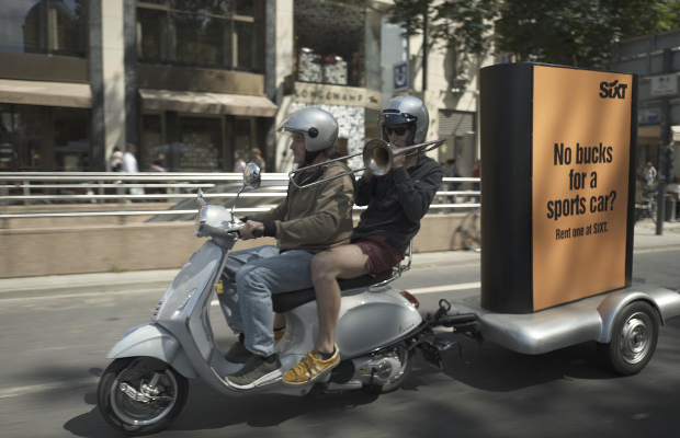 SIXT Fills Famous Dusseldorf Street with a Surprising Sound