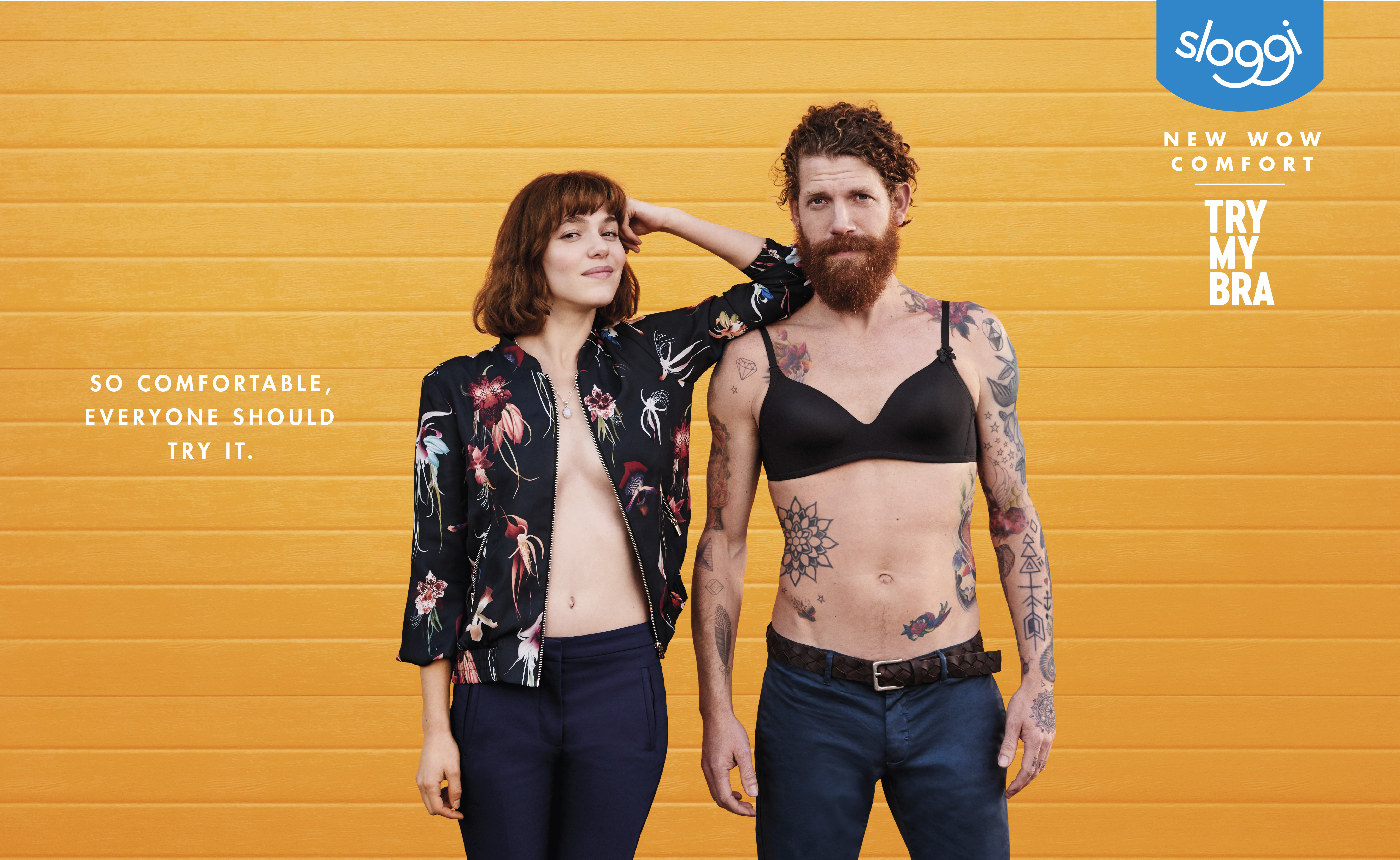 Sloggi and Mullenlowe Group's Provocative and Quirky 'Try My Bra' Campaign Celebrates True Comfort